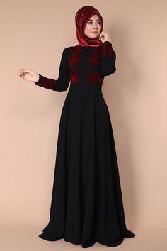 Süet Detay Elbise Siyah Ürün kodu: PN1709 --> 119.90 TL