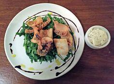 la fabrica tapas restaurant fried squid