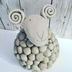 "39 Likes, 3 Comments - Lisa Lubilou (@lubilouceramic) on Instagram: ""Baaa, in progress #handmade #ceramics #clay #handmadeceramics #sheep #baa #wip #lubilouceramics…"""