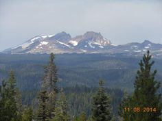 The view from Swede Ridge Shelter.