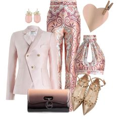 Show by ebramos on Polyvore featuring moda, Zimmermann, Valentino and Christian Louboutin