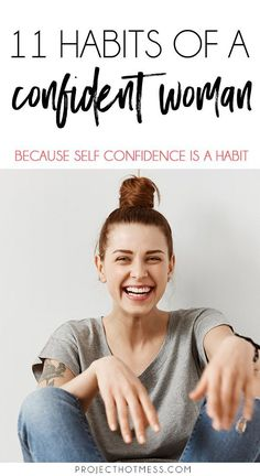 Printed-Self confidence isn't something you just 'have'. It's something that takes work to achieve and then it's something you need to make a habit. Here are the top 11 habits of a confident woman - how many of these habits do you have? Self Confidence Tips, Confidence Building, How To Build Confidence, Gaining Confidence, Building Self Esteem, Confidence Boosters, Body Confidence, Fitness Motivation, Woman Motivation