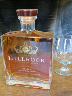 Hillrock Estate Distillery. New bourbon and single malt farm distillery in Ancram, New York. Available around October in New York state.