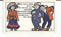 A Vintage Comic Postcard by COLLECTORSCENTER on Etsy