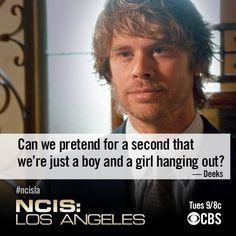 Awww #Densi #NCIS:LA