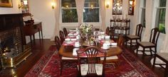 The Dining Room at the 1900 Inn on Montford, a Legendary Asheville Bed and Breakfast Inn