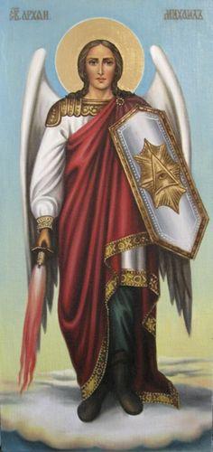 Св.архангел Михаил (холст,масло) - художник Ядвига Сенько