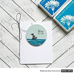 My Monthly Hero: Creativity in a Box June 2018 idea #3 by Amy Tsuruta. Kit and add-ons available for purchase Monday, June 4.