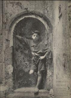 SHOESHINE CHILDREN OF ITALY - IRVING PENN 1949