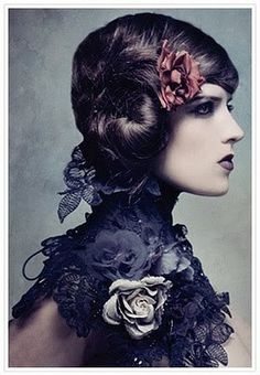 ❀ Flower Maiden Fantasy ❀ beautiful art fashion photography of women and flowers - Paolo Roversi Paolo Roversi, Foto Fashion, Fashion Art, Editorial Fashion, Editorial Hair, Catwalk Fashion, Fashion Poses, Dark Beauty, Gothic Beauty