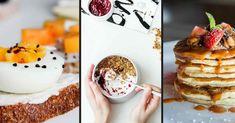 Tři snídaně, které se dají připravit na různé způsoby a ještě jsou zdravé a k tomu velmi chutné. Inspirujte se a připravte si boží snídani! Granola, Panna Cotta, Pancakes, Breakfast, Ethnic Recipes, Food, Diet, Morning Coffee, Dulce De Leche