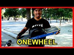 Onewheel monopatín todoterreno de una rueda (español) - YouTube Motorized Skateboard, Baseball Cards, Sports, Youtube, Wheels, Hs Sports, Sport, Youtubers, Youtube Movies