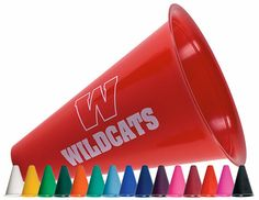 "8"" Megaphone Party Favors - MiniSportsBalls.com - Imprinted with Your Logo or Custom Design"