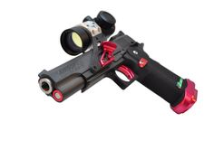 Race Gun, completely built and hand-tuned for efficiency and performance. .