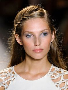 10 Hairstyles for Fine Hair: A Braided or Twist Along Your Hairline