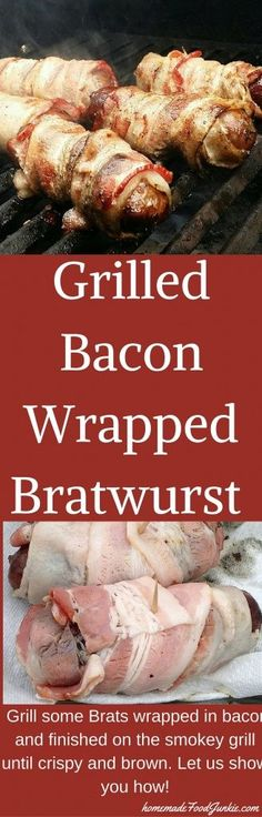 ... bacon bacon wrapped bratwursts bacon wrapped bratwursts bacon wrapped