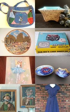 Fun Monday Finds With TeamKitsch! by livingavntglife on Etsy--Pinned with TreasuryPin.com