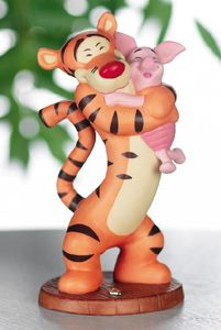 Piglet and Tigger Cake topper or rehearsal dinner decoration