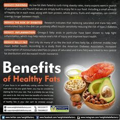 Low Fat Diets, Lean Protein, Fruits And Vegetables, Healthy Fats, Cravings, Benefit, Meals, Weight Loss, Food