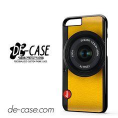 Lemon Yellow Leica Camera For Iphone 6 Iphone 6S Iphone 6 Plus Iphone 6S Plus Case Phone Case Gift Present YO