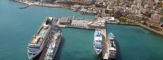 Port is located only a few meters from the crowd of the town of Kusadasi. The harbour is the gateway to Ephesus ancient ruins in Turkey. Kusadasi, Shopping Places, Ephesus, Holiday Resort, Majorca, Ancient Ruins, Greece Travel, Tenerife, Sicily
