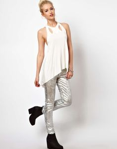 Kill City Cut Out Top
