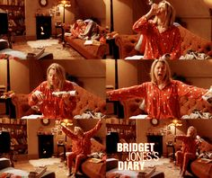 "Have you ever had an ""All by Myself"" moment a la Bridget Jones Diary?"