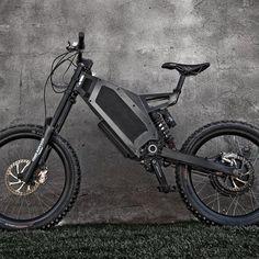 Stealth Bomber Electric Bike