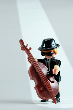 Double Bass Player @Kristen DiBello who does this remind you of