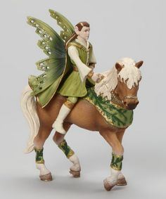 Take a look at this Schleich Falaroy & Horse Figurine Set by Schleich on #zulily today!