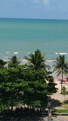 Praia de Boa Viagem em Recife, PE -Vista de casa!