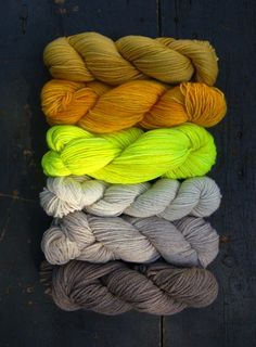 Colors...Neons and Neutrals might be a fav combination of mine.