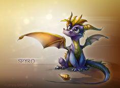 Spyro the Dragon by Dragibuz.deviantart.com on @deviantART
