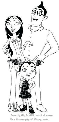 Pin On Vampirina Disney Junior