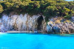Rovinia beach, Liapades, Corfu