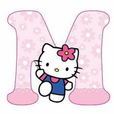 Escuela infantil castillo de Blanca: ALFABETO HELLO KITTY Hello Kitty Theme Party, Hello Kitty Themes, Hello Kitty Birthday, Cat Birthday, Hello Kitty Face Paint, Hello Kitty Art, Hello Kitty Pictures, Kitty Images, Kitty Tumblr