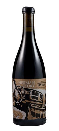 Herman Story #wine #packaging