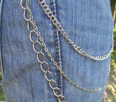 Jean Jewelry Jean Chains J 2 by stevenssteampunk on Etsy, $20.00