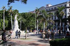 Parque Central de La Habana.