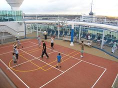 Sports Court Eastern Caribbean Cruises, Sports Court, Sea Sports, Jewel Of The Seas, Cruise Port, Barbados, Saving Money, Jewels, Night