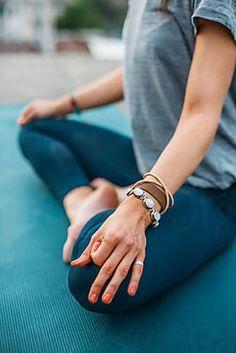 Woman doing yoga. by Studio Firma - Stocksy United Yoga Pictures, Yoga Photos, Pilates Studio, Pilates Reformer, Outdoor Yoga, Yoga Photography, Yoga Fashion, Yoga Meditation, How To Do Yoga