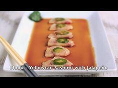 Nobu - Yellowtail Sashimi with Jalapeno | City Cookin'