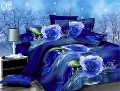 the deep blue sea 4 Piece 3D Luxury Bedding Set from Juliano™