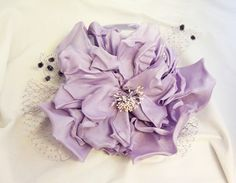 minuet flower fascinator