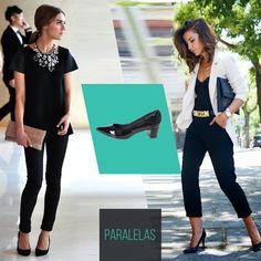 Não tem como errar, looks all black estão sempre na moda! Amamos essas inspirações.    #love #instagood #happy #beautifuls #girl #smile #fashion #summer #moda #estilo #instamood #instalove #best #sapatos #sapato