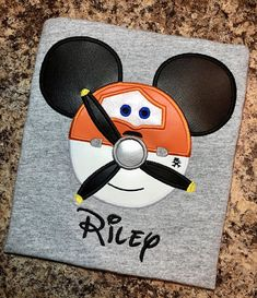 Plains Inspired Character Mouse Ears Shirt- Disney Characters - Any Color Shirt! Mommy/Daddy/Brother/Sister/ ANY Name!