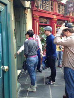 Ginnifer Goodwin & Josh Dallas in Disneyland (2013)