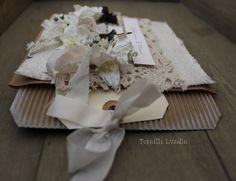 Wedding card  Paperbag and big tag.
