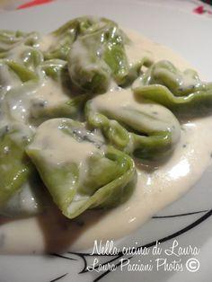 Tortellini, Pasta Recipes, Cooking Recipes, Vegetarian Recipes, Healthy Recipes, Homemade Pasta, Ravioli, International Recipes, Gnocchi
