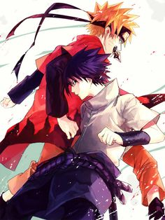 Naruto Uzumaki and Sasuke Uchiha. Are best friends and both died.... Hopefully they will come back though
